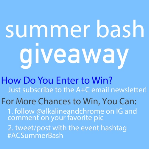 summer bash enter to win